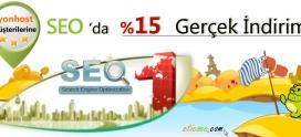 İyonHost Müşterilerine Seo Hizmetinde %15 Gerçek İndirim!
